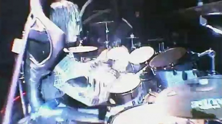 Disasterpieces drum solo screen