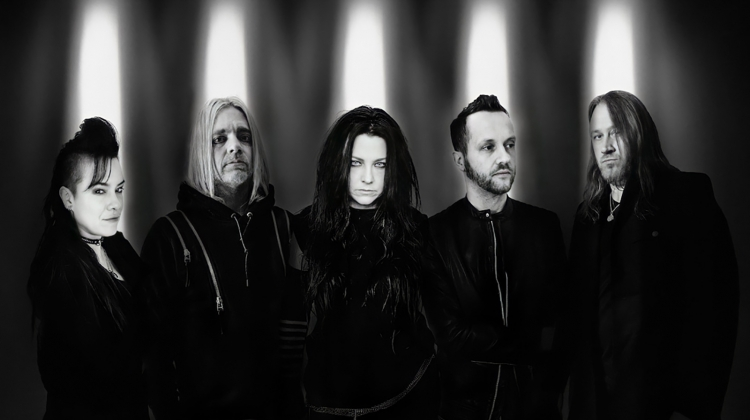 evanescence 2021 PRESS B&W