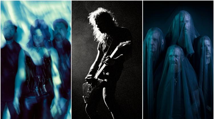 fall 2021 covers split, Travis Shinn (Spiritbox) Ross Halfin (Metallica) and Jimmy Hubbard (Mastodon)