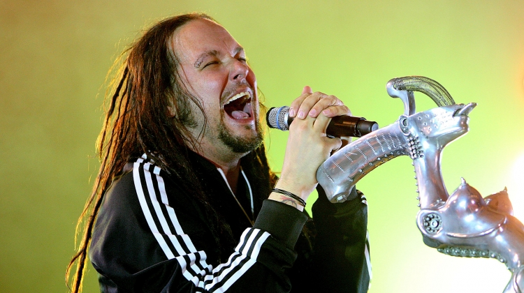 korn jonathan davis 2010 GETTY, Graham Denholm/Getty Images