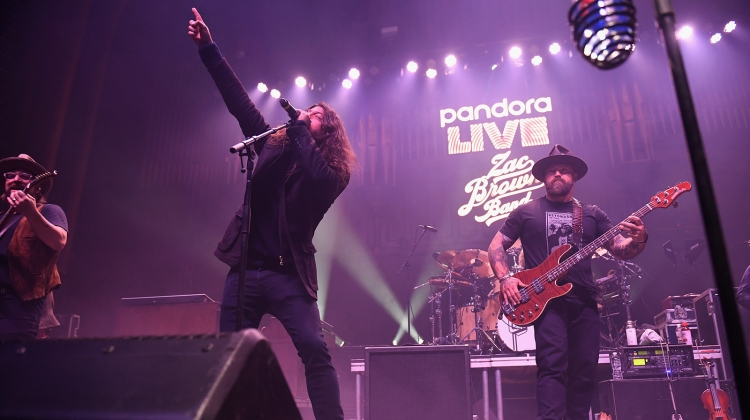 dave grohl zac brown metallic GETTY, Jason Kempin/Getty Images for Pandora