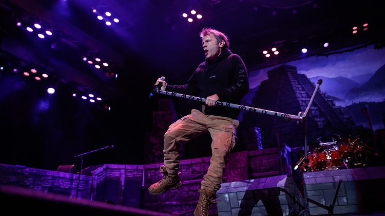 bruce dickinson iron maiden GETTY, Feature China / Barcroft Images / Barcroft Media via Getty Images