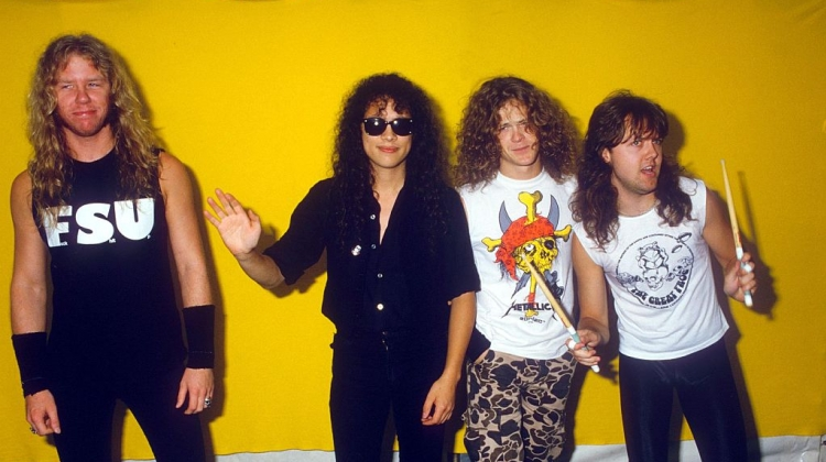 Metallica 1987 Getty, Brian Rasic/Getty Images