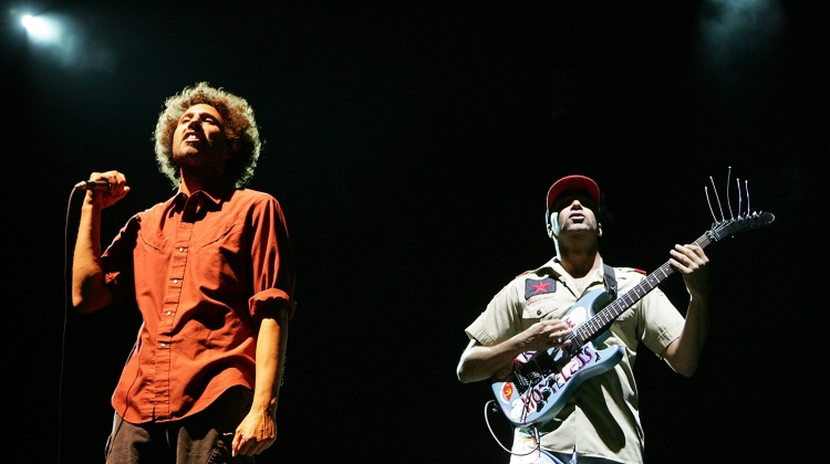 rage against the machine GETTY, Ethan Miller/Getty Images