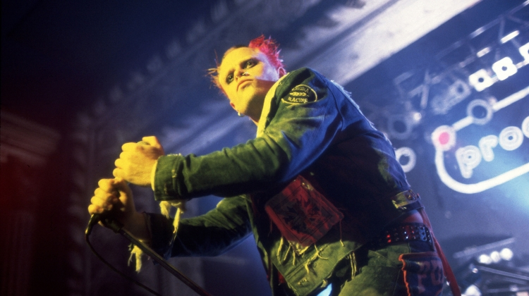 The Prodigy's Keith Flint, 1990, Paul Natkin/WireImage