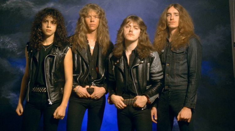 Metallica 1985 Getty, Fin Costello/Redferns/Getty Images