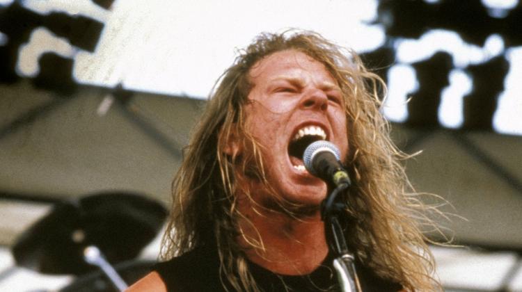 metallica james hetfield 1987 GETTY, Mike Cameron/Redferns