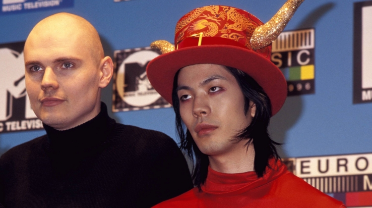 Billy Corgan James Iha MTV Awards Europe Getty, Patrick Ford/Getty Images