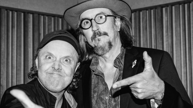 Lars Ulrich and Les Claypool
