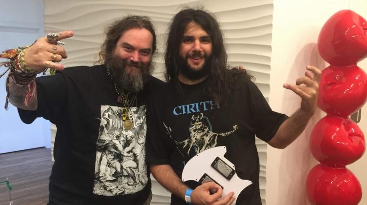 Arthur Rizk and Max Cavalera