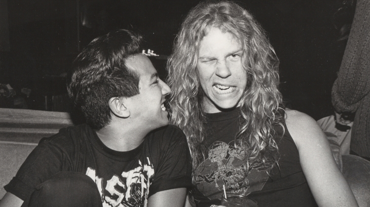 Michael Alago and James Hetfield, Michael Alago