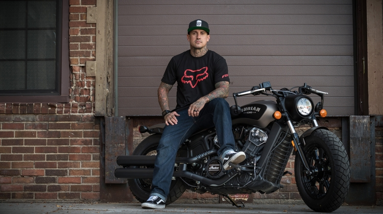 carey hart 2017 PRESS, Indian Motorcycles