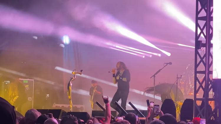 Korn Performing with Fieldy's Fill-in Suicidal Tendencies Roberto Ra Diaz 2021