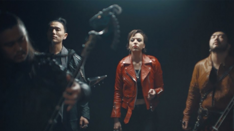 lzzy hale the hu halestorm video still