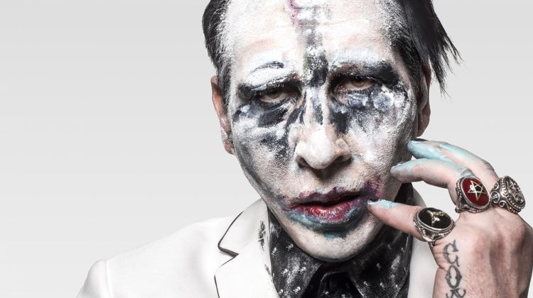 marilyn manson 2017 PRESS, Perou