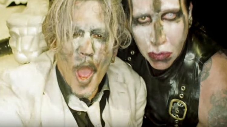 marilyn manson say10 video still