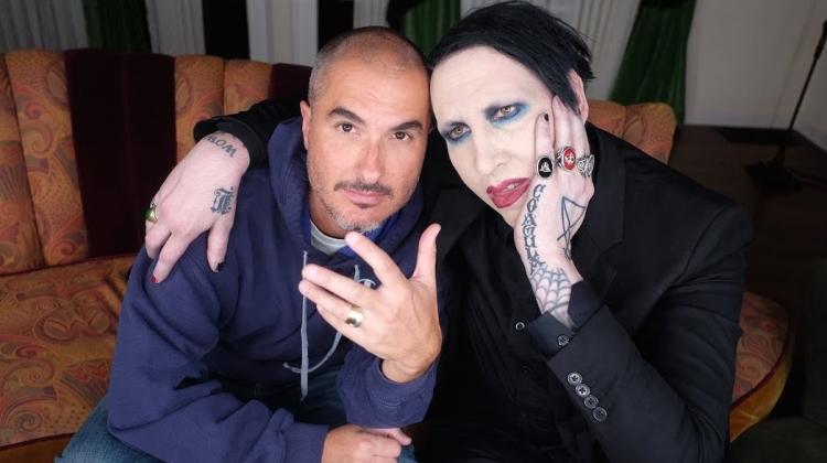 Marilyn Manson Zane Lowe 2017