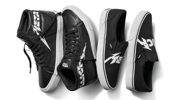 8cbf063690 Metallica Team With Vans for New Capsule Collection