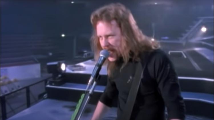 "Metallica ""Wherever I May Roam"" video still"