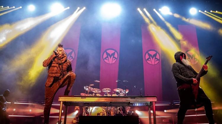 Mudvayne Live 2021 Steve Thrasher, Steve Thrasher