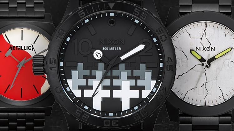 metallica nixon watches