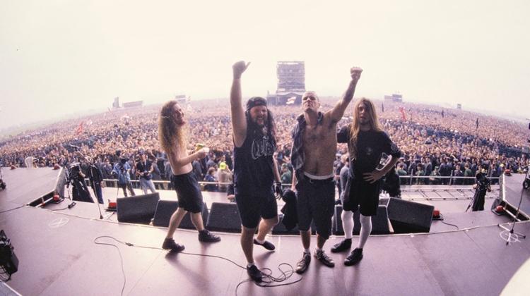 pantera 1991 monsters of rock GIRON, Joe Giron
