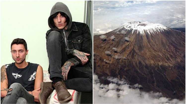 Bring Me the Horizon Kilimanjaro, Steve Mack/Getty Images; Paul Shaffner