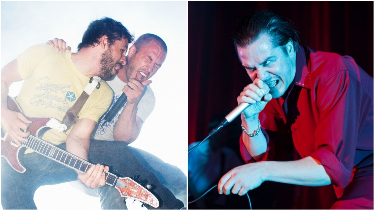 Dillinger escape plan mike patton GETTY, Paul R. Giunta/Getty Images; Gary Wolstenholme/Redferns