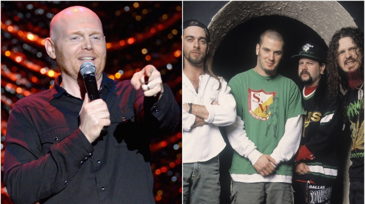 Bill Burr Pantera, Matt Winkelmeyer/Getty Images for International Myeloma Foundation; Paul Natkin/WireImage
