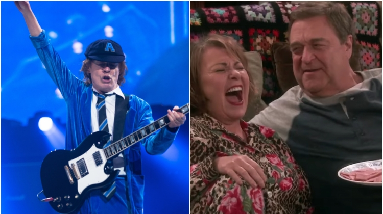 AC/DC Roseanne split, Brett Carlsen/Getty Images