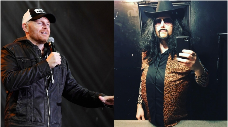 "Hear Comedian Bill Burr Recount Covering ""Cowboys From Hell"" in Vinnie Paul Costume"