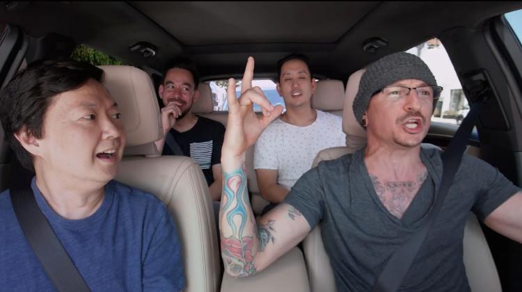 LP Carpool Karaoke Screencap