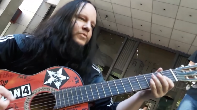 Joey Jordison Acoustic Screencap