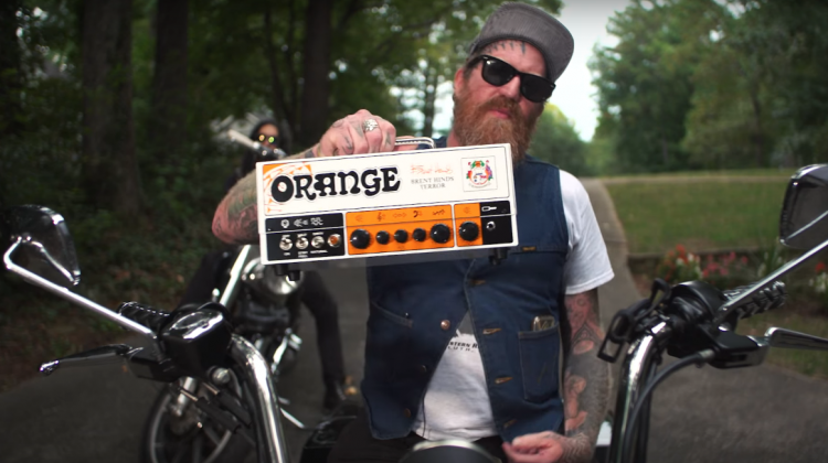 Brent Hinds amp