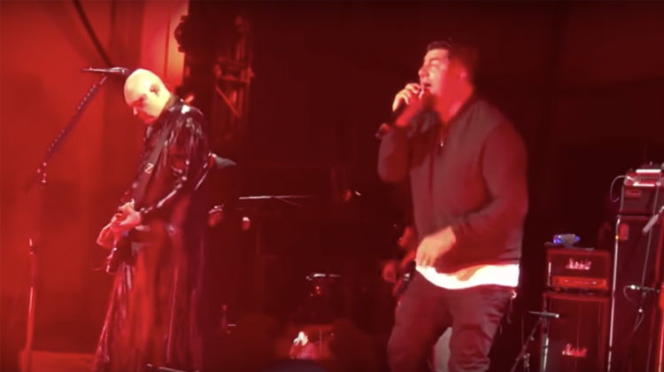chino moreno smashing pumpkins video still