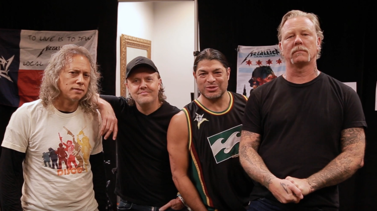 metallica day of service still