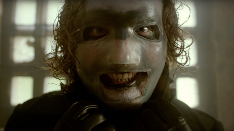 slipknot corey taylor unsainted video still