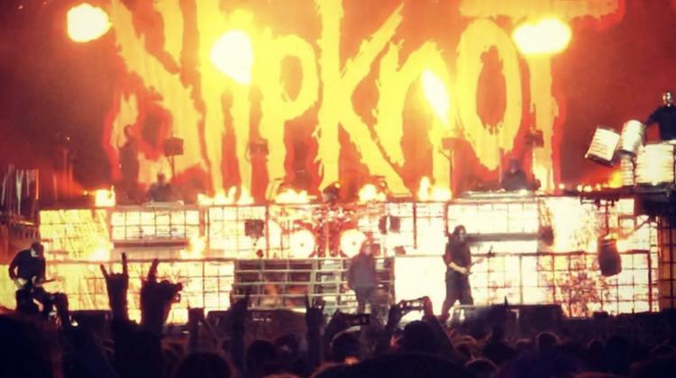 slipknot rockfest still