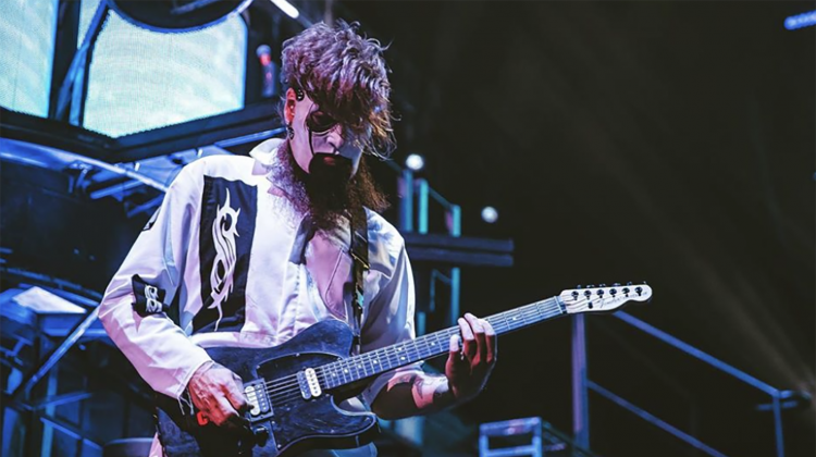 slipknot jim root live