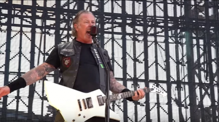 metallica hetfield god that failed live