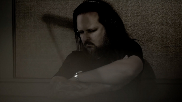 korn jonathan davis in studio the nothing 2019