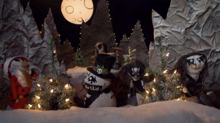 black metal snowman frostbite the snowman