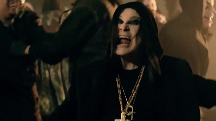 ozzy osbourne straight to hell video still