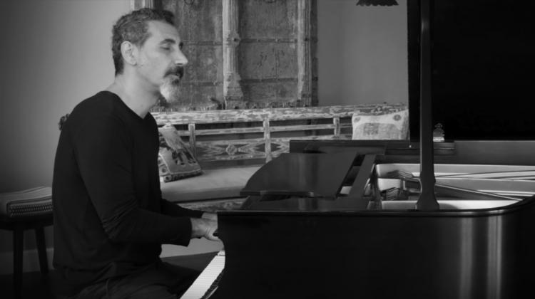 Serj Tankian Piano composition screen