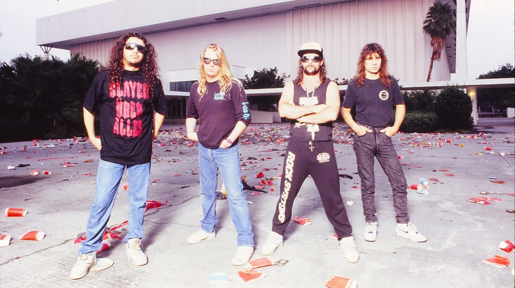 slayer PRESS 1991