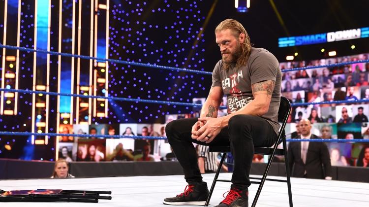 edge 2021 press crop, WWE