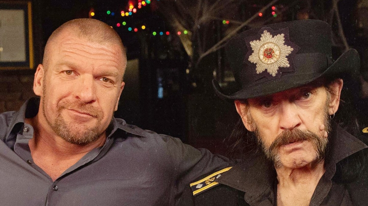 triple h lemmy MOTORHEAD press