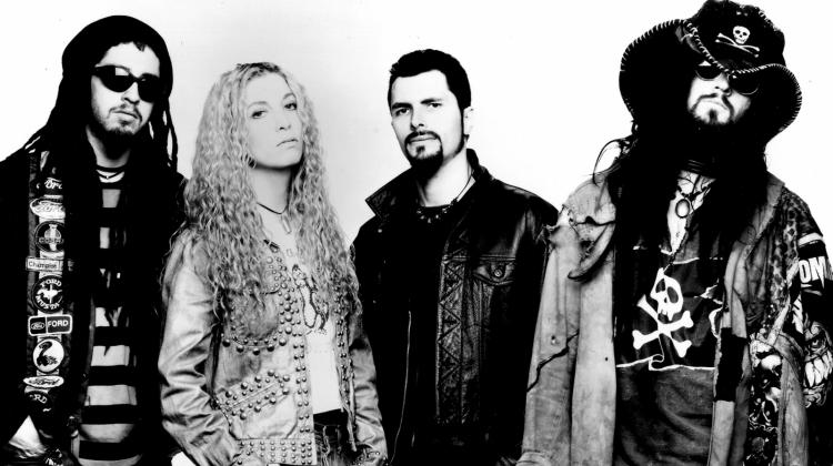 white zombie PRESS 1995