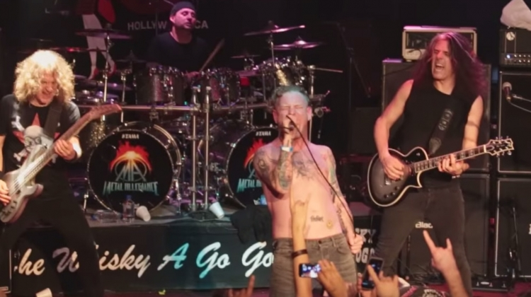 """Watch Corey Taylor, Dave Lombardo, More Perform Intense """"Ace of Spades"""" Cover"""