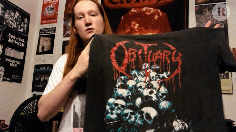 """Creeping Death's Lincoln Mullins Shows Off """"The Best Shirt Ever"""""""